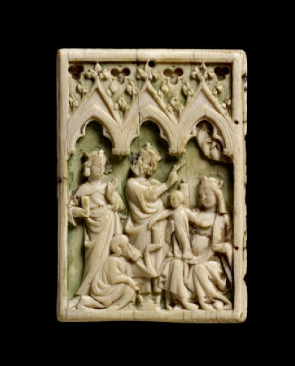 Diptych leaf with the Adoration of the Magi
