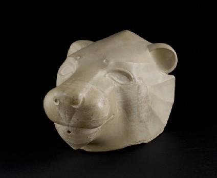 Lion head rhyton