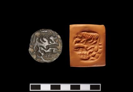 Stamp Seal (Gabled lentoid)