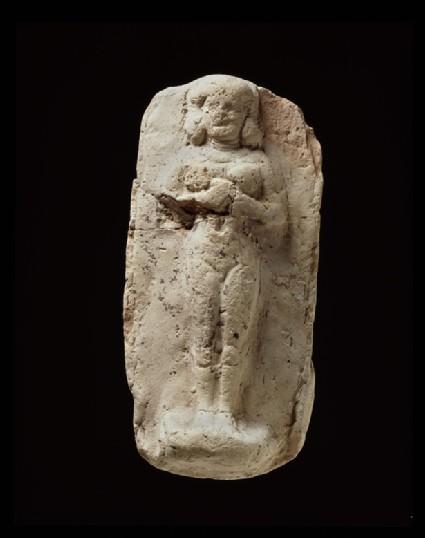 Female figurine plaque