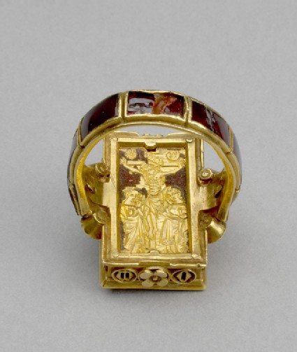 Reliquary ring (The Thame Ring)