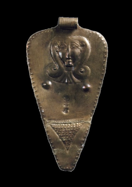 Pendant with mother goddess motif