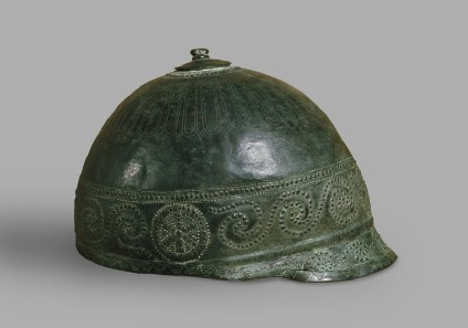 Italo-Celtic bronze helmet
