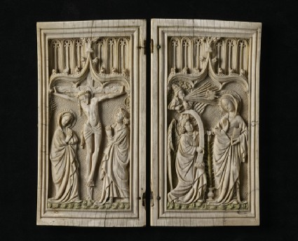 Diptych with the Crucifixion and the Annunciation