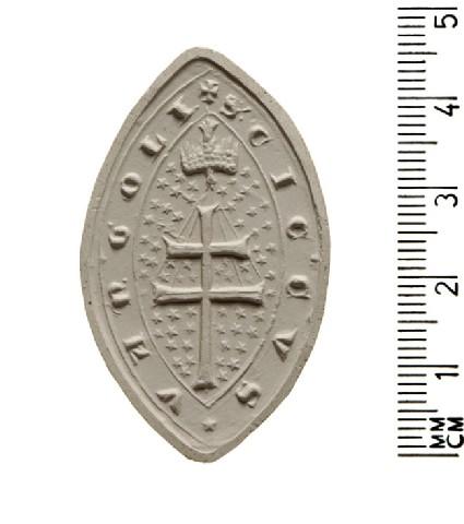 Seal of Cicco Vangoli, Hospital of Santo Spirito, Rome