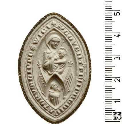 Seal of the Convent of the Preaching Dominican Friars, Ipswich
