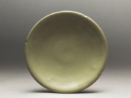 Greenware saucer dish