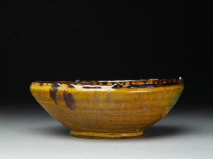 Bowl with splashed decoration