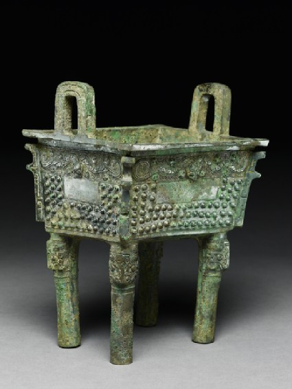 Ritual food vessel, or fang ding
