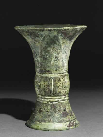 Ritual liquid vessel, or zun