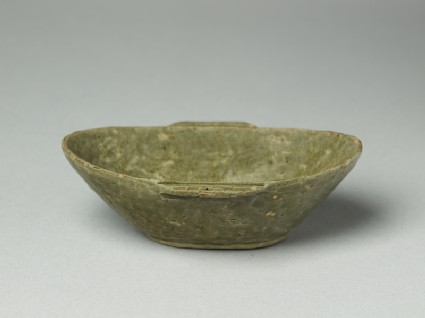 Greenware ear-cup