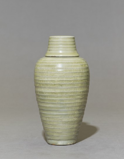 Greenware meiping, or plum blossom, vase