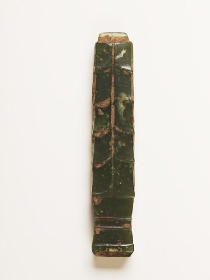 Handle-shaped jade