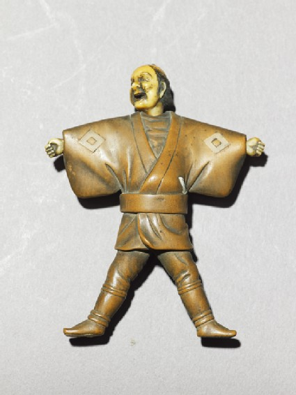 Netsuke in the form of a man