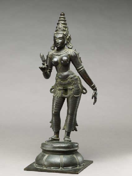 Standing figure of Gauri