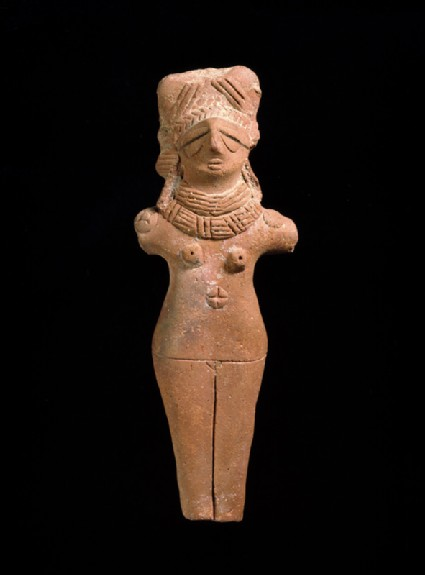 Terracotta female figure