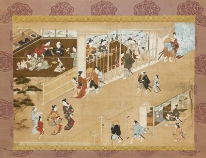 Yoshiwara pleasure quarters