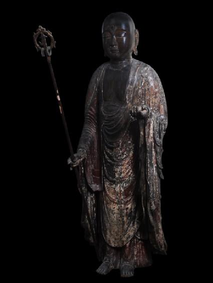 Figure of the bodhisattva Jizō