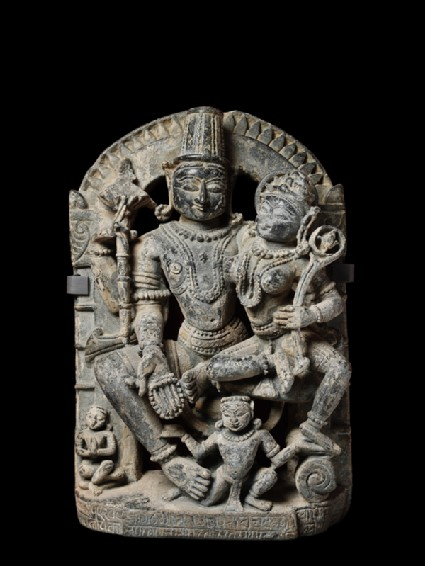 Figure of Vishnu and Lakshmi, or Lakshmi-Narayana