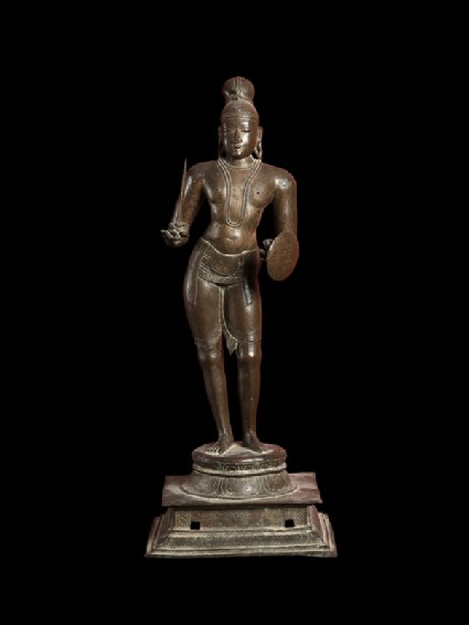 Figure of the saint Tirumankai Alvar