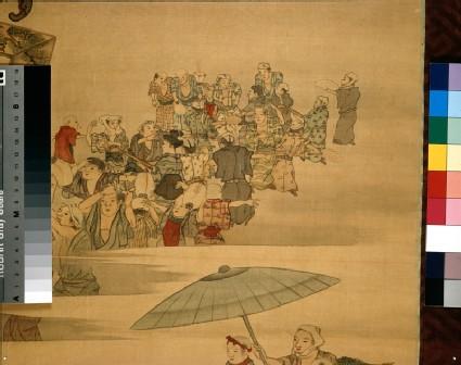 Obon festival scene