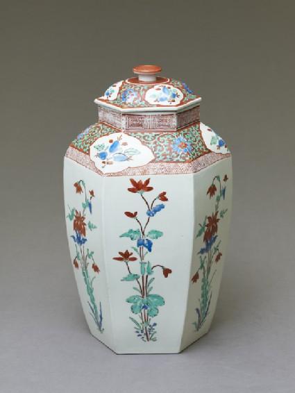 Hexagonal 'Hampton Court' jar