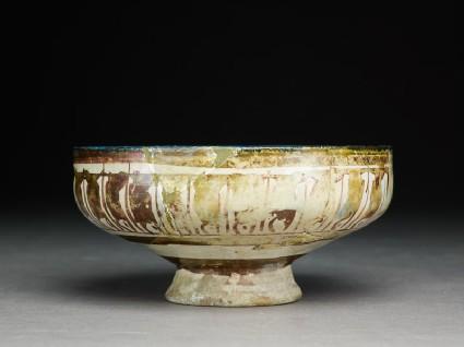 Bowl with arabesques and naskhi inscription