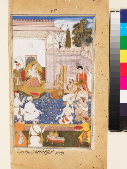 Bhishma advises Yudhishthira on the nature of the four varnas, or castes