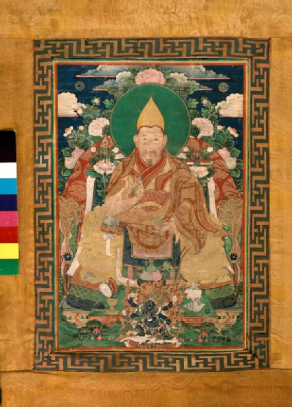 A lama of the Gelugpa sect
