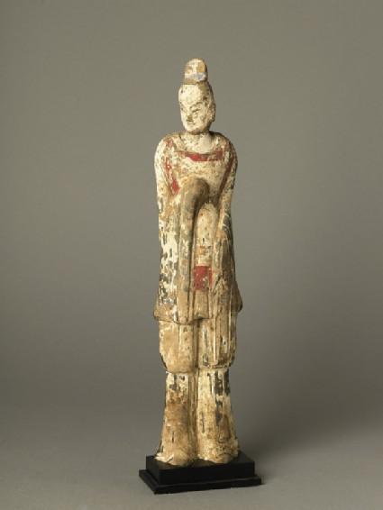 Standing guardian figure