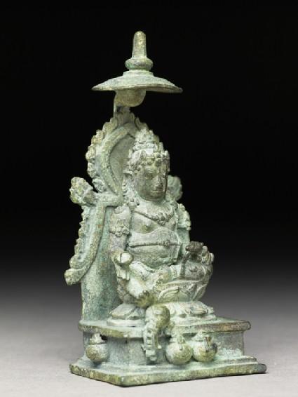 Figure of Jambhala or Kubera, god of plenty