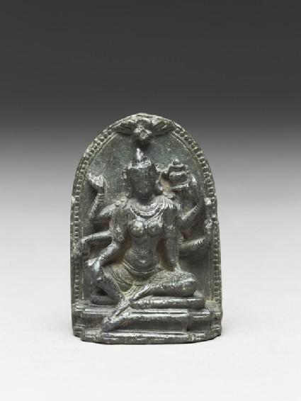 Seated figure of the goddess Vasudhara