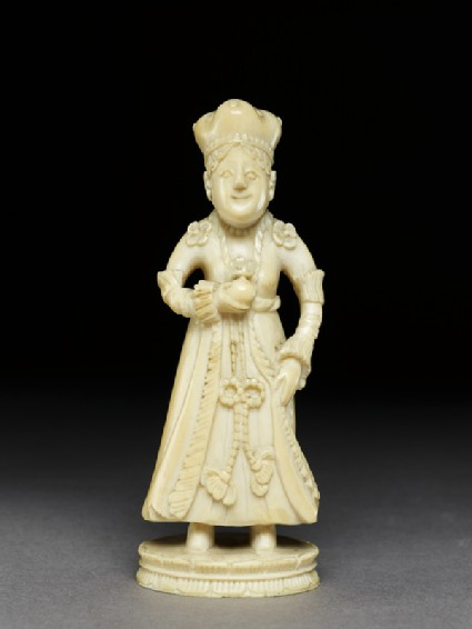 Ivory king chess-piece