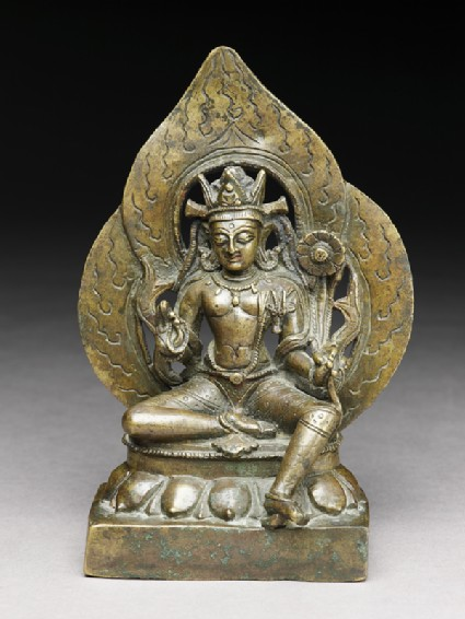 Seated figure of Padmapani
