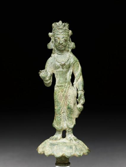 Standing figure of Maitreya, the future Buddha