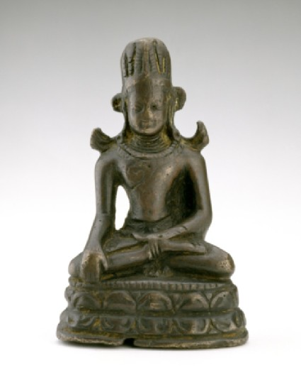 Figure of the Crowned Buddha