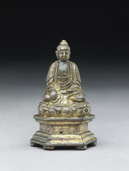 Seated Buddhist figure