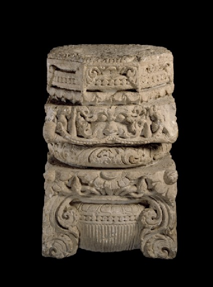Pillar capital from a temple