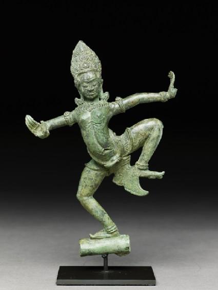 Dancing apsara, or celestial beauty