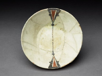 Bowl with painted decoration