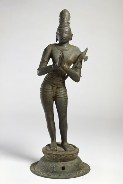 Figure of the saint Chandikeshvara