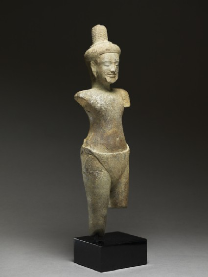 Standing figure of a rishi, or holy man