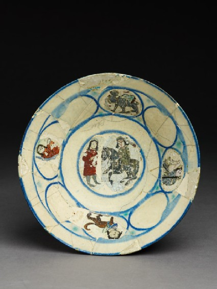 Bowl with two figures