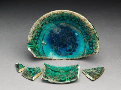 Five fragments from a bowl