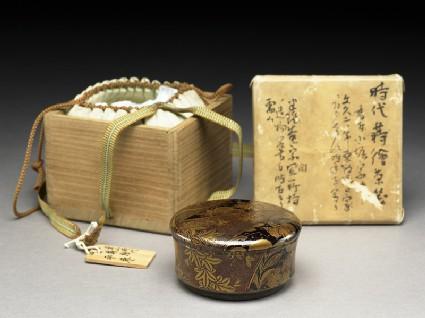 Kōdaiji lacquer tea caddy