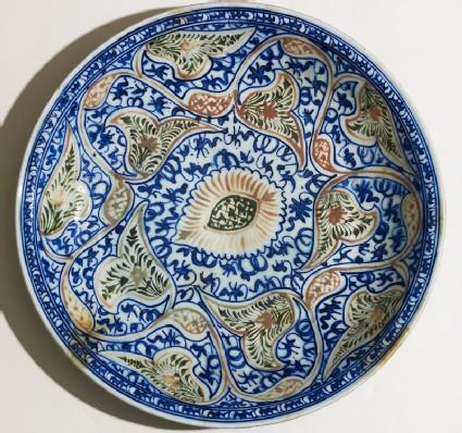 Dish with vegetal decoration