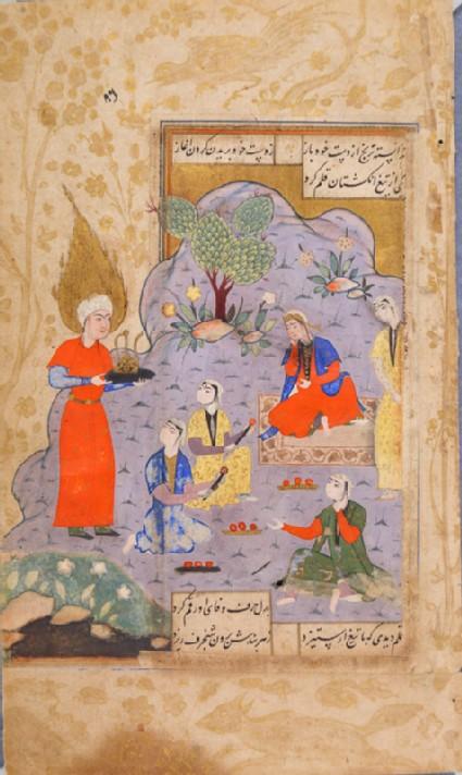 Zulaykha's maids mesmerized by Yusuf's beauty