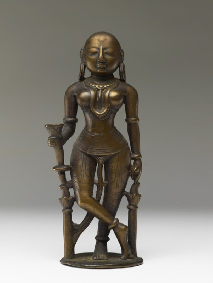 Female attendant figure