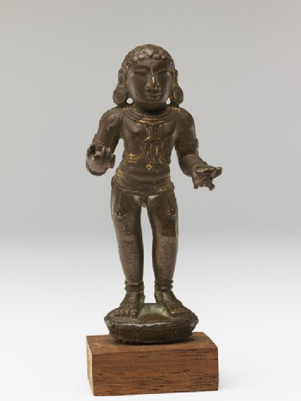 Figure of the saint Manikkavachakar