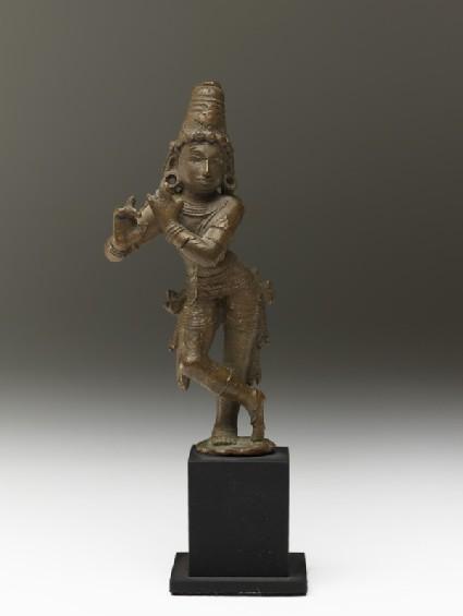 Figure of Krishna Venugopala, the Flute-playing Cowherd